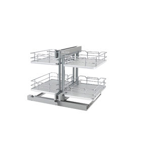 Two-Tier Pull-Out Basket System