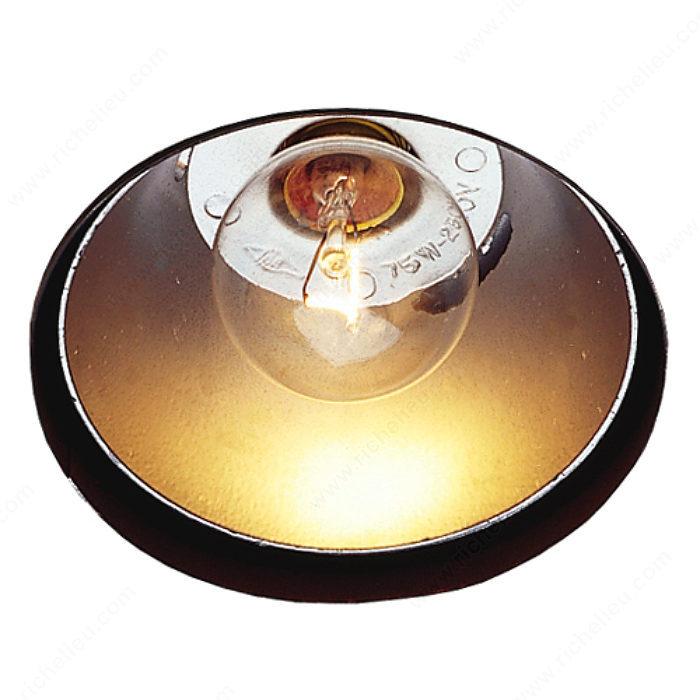 Luminaire incandescent encastr de 40 w quincaillerie for Quincaillerie luminaire