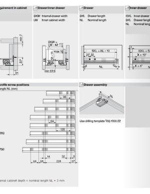 blum 560h installation instructions