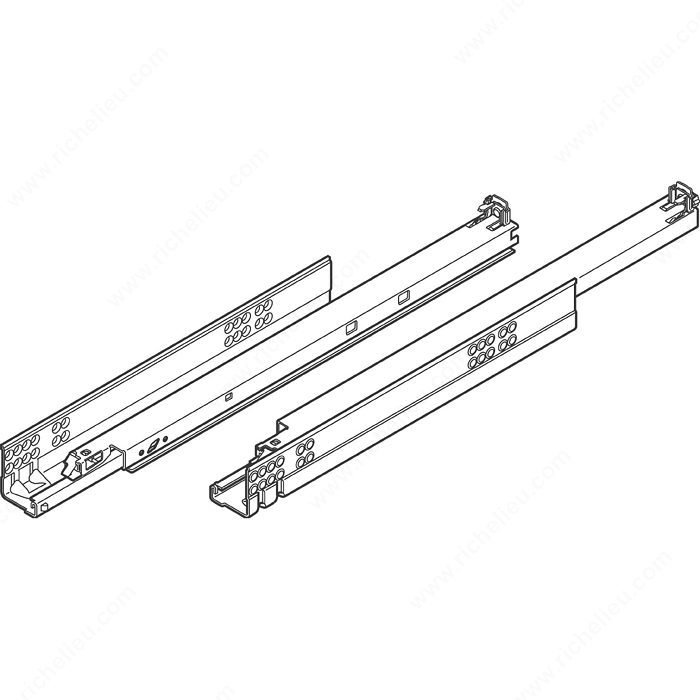 Tandem 562 Full Extension Concealed Undermount Slide For