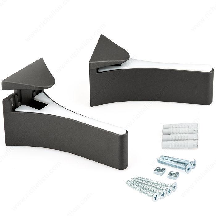 Flat Glass Wood Wall Shelf Support Richelieu Hardware