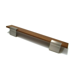 Contemporary Wood and Metal Pull - 5850