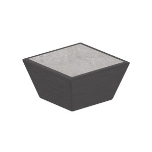 Contemporary Metal and Concrete Knob - 5858