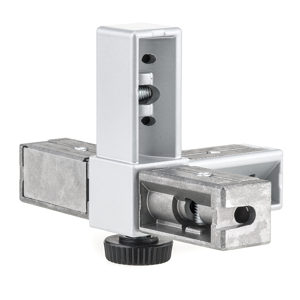 4-Way Visible Connector with Threaded Hole - Liberta 20