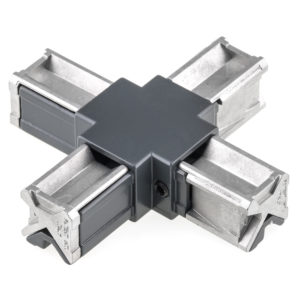 4-Way Visible X-Shaped Connector - Liberta 25