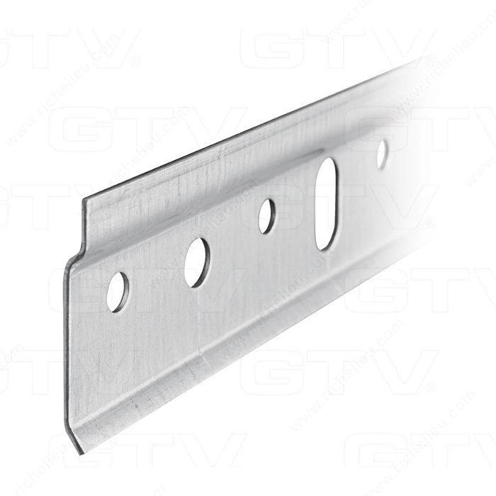 steel hanging rail 2489 mm richelieu hardware. Black Bedroom Furniture Sets. Home Design Ideas