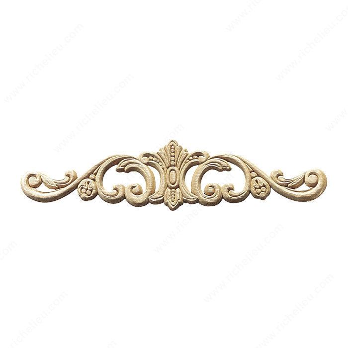 Appliqu quincaillerie richelieu for Bronze pour meuble de style