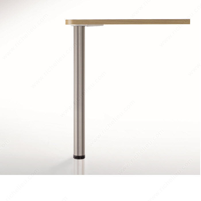 Adjustable table legs interiors design - Table with telescoping legs ...