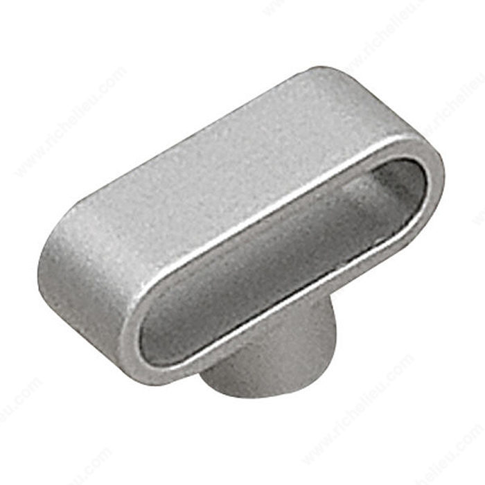 Contemporary Metal Knob - 616-1