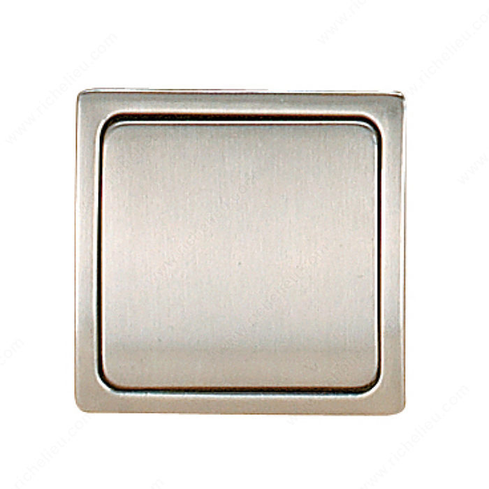 Contemporary Recessed Metal Pull 721 Richelieu Hardware