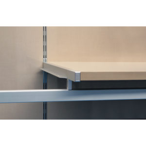 Undermount Vertical Double-Insert Shelf Support