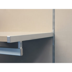 Undermount Vertical Single-Insert Shelf Support