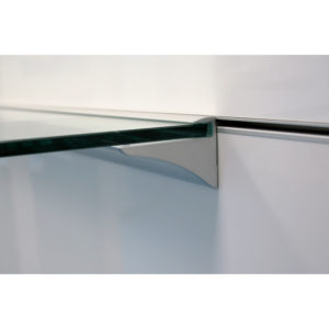 End Cap for Glass Shelf Support