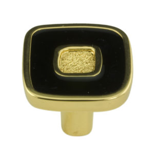 Contemporary Metal Knob - 6430