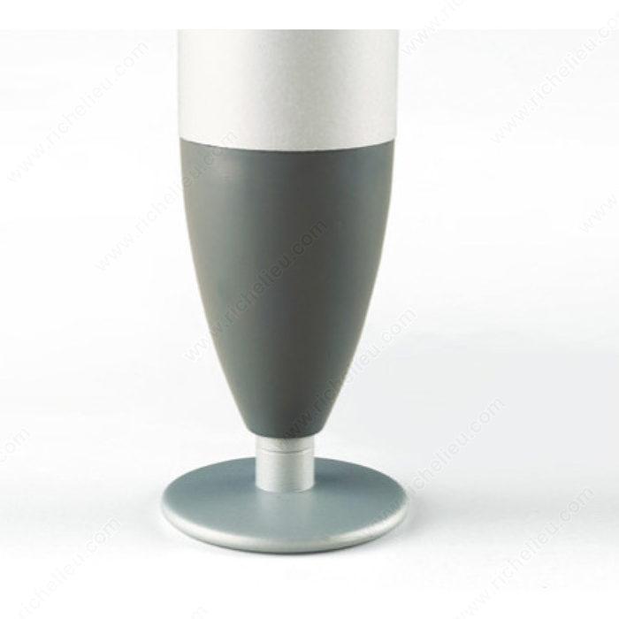 patte de meuble design courb e 650 quincaillerie richelieu. Black Bedroom Furniture Sets. Home Design Ideas