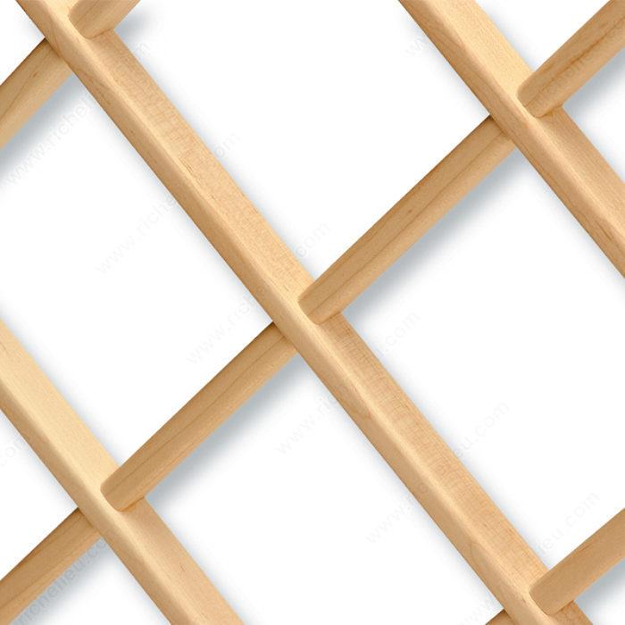 Support en treillis de bois pour bouteilles quincaillerie richelieu - Support pour couper du bois ...