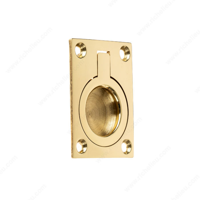 Traditional Recessed Brass Pull 6902 Richelieu Hardware
