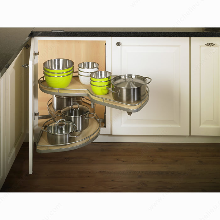 Kitchen Cabinet System: LeMans II System Without Soft-Close Mechanism