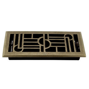 Surface-Mount Floor Register - Metal
