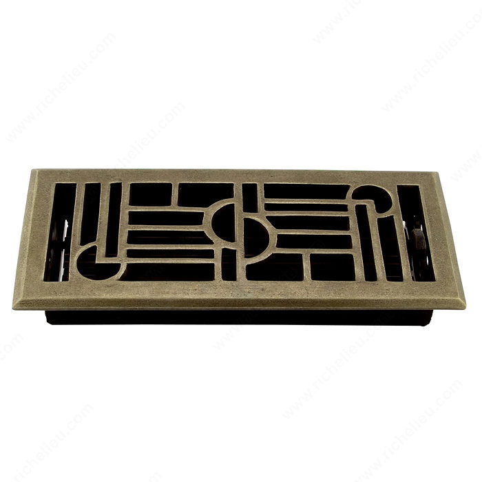 Surface-Mount Floor Register - Metal-1