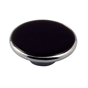 Contemporary Acrylic and Metal Knob - 737
