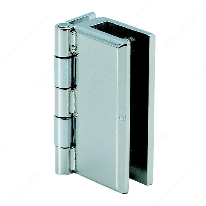 Stainless Steel Hinge For Glass Or Acrylic Door, Recessed Within  Furniture/Cabinet   Richelieu Hardware