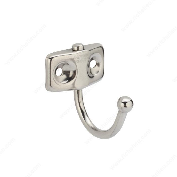 utility stainless steel swivel hook 757 richelieu hardware. Black Bedroom Furniture Sets. Home Design Ideas