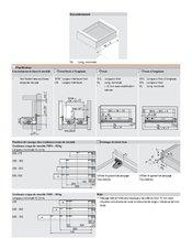 coulisse movento pleine extension 760h5000t quincaillerie richelieu. Black Bedroom Furniture Sets. Home Design Ideas