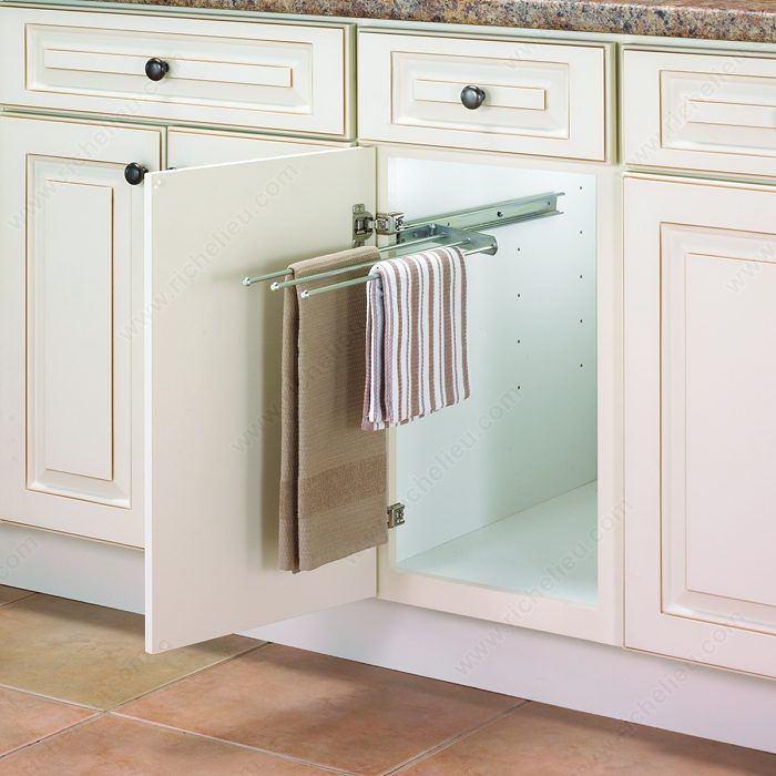Pull-Out Towel Bar-1