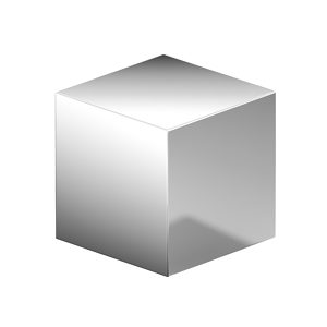 Contemporary Metal Knob - 7981