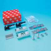 Accessory Kit for Sliding Doors with Anti-Friction Ball Bearing Rollers