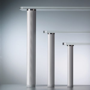 Attirant Glass Table Leg Adaptor
