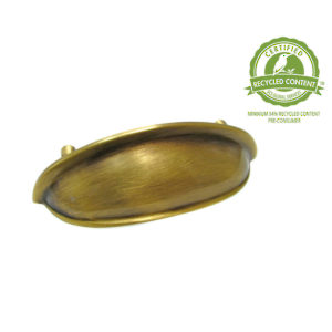 Traditional Solid Brass Pull - 8211