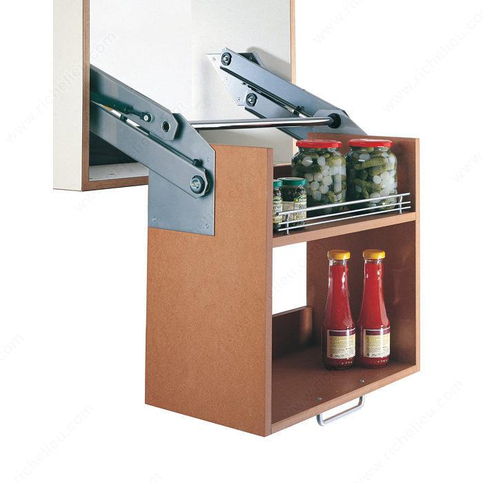 Galerie pour tablette quincaillerie richelieu for Quincaillerie pour cuisine
