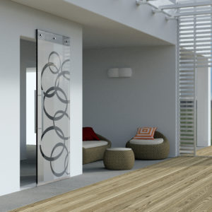Magic Vetro Wall Mount Sliding System for Glass Doors