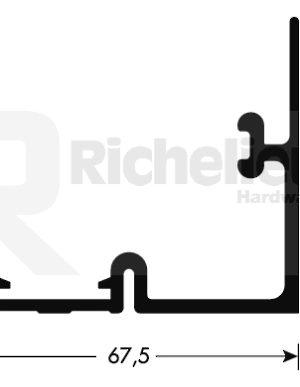 450mm aleaci/ón de aluminio Ranura en T de riel en inglete Losa deslizante no porosa Herramienta de carpinter/ía para enrutador sierras de cinta Losa deslizante de barra en T prensas de perforaci/ón