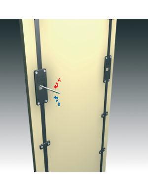 Line art  sc 1 st  Richelieu Hardware & Door Straightening Bar for One Door - Richelieu Hardware