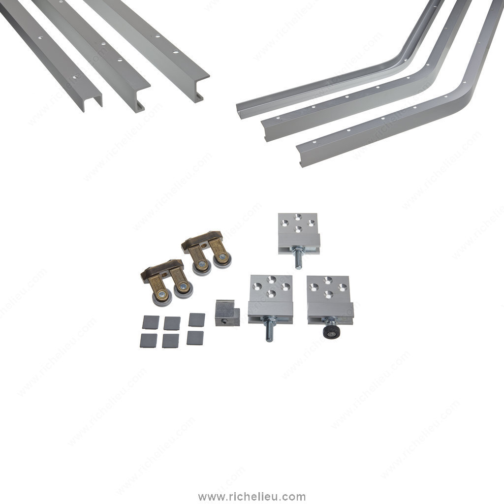 Door Straightening Bar: System For Sliding Cabinet Doors With Flush Mounting. HAWA