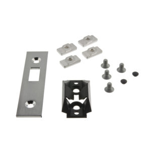 Strike Plate for Wall Profile - Includes Centering Assembly