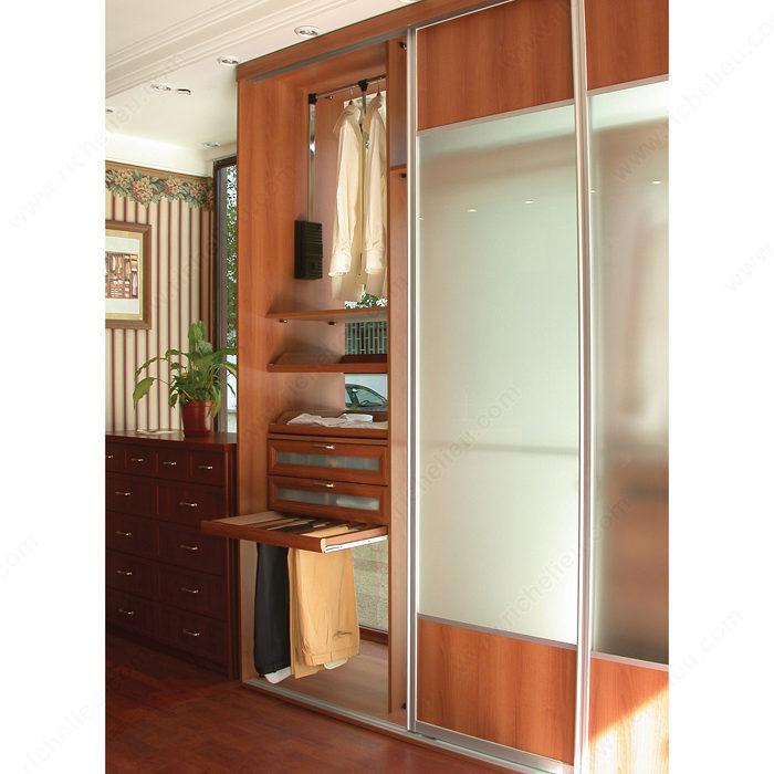 quincaillerie pour porte coulissante cadre en aluminium quincaillerie richelieu. Black Bedroom Furniture Sets. Home Design Ideas