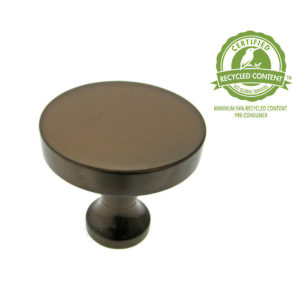 LEED-Certified Solid Brass Knob - 910