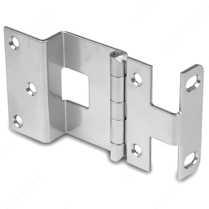 3 4 Overlay Insutional Hinge For Doors With A Thickness Up To 1 8 Richelieu Hardware