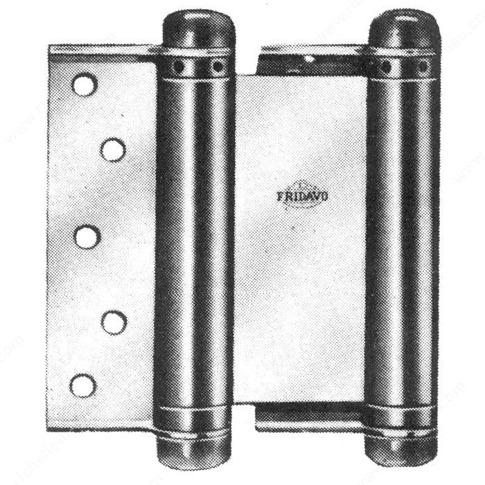 Double Action Door : Double action spring hinge series richelieu hardware