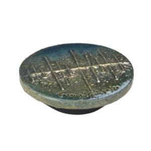 Materia Viva Collection Raku Ceramic Knob - 9428