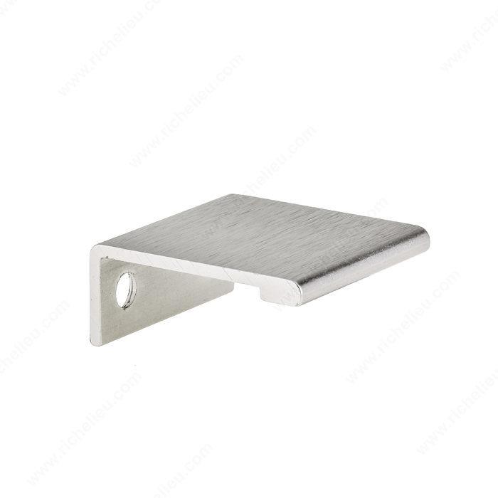 contemporary aluminum edge pull 9898 richelieu hardware. Black Bedroom Furniture Sets. Home Design Ideas
