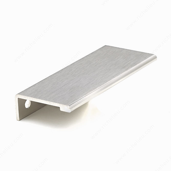 Contemporary Aluminum Edge Pull 9898 Richelieu Hardware