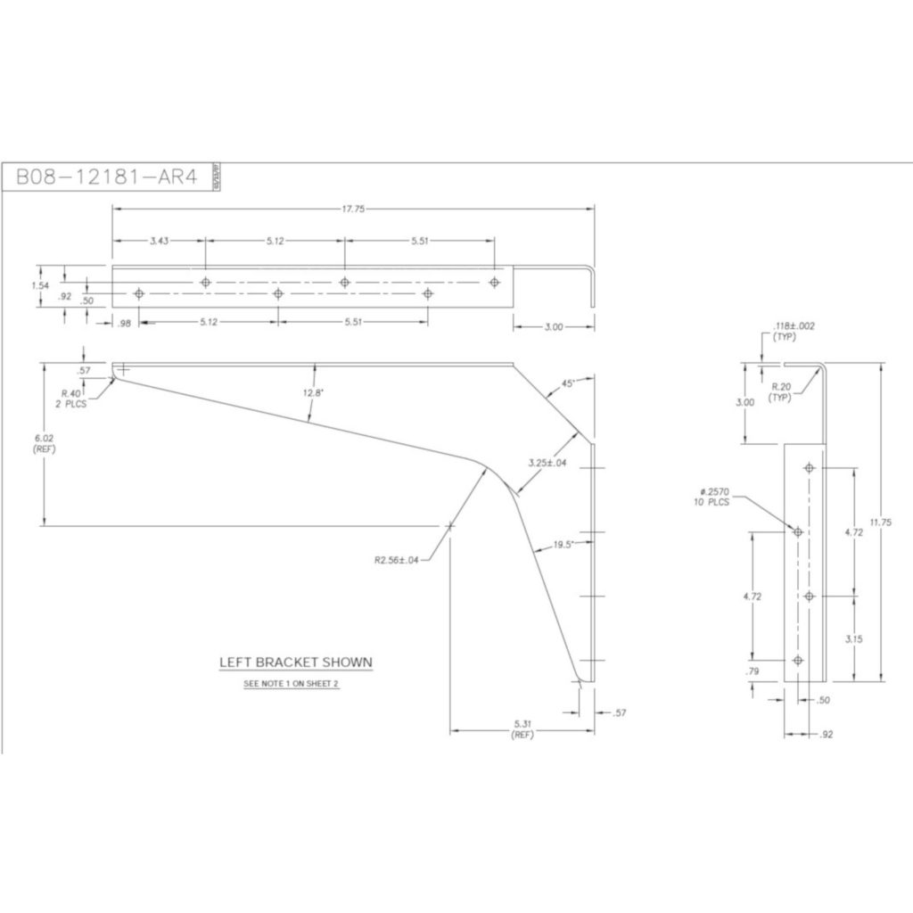 Kolossus Heavy Duty Workstation Bracket Richelieu Hardware