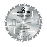 "Euro-Rip 10"" Ripping Saw Blade with Cooling Slots and Anti-Kickback"