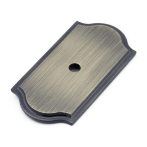 Transitional Metal Backplate for Knob - 1040