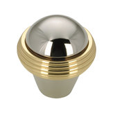 Contemporary Solid Brass Knob - 1063